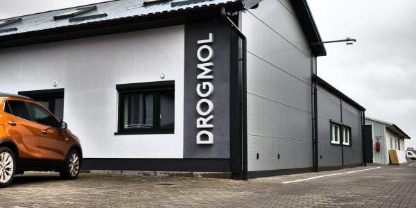 Litery blokowe wykonane w formie liter podświetlanych - producent oznakowania firm mkdesign.pl